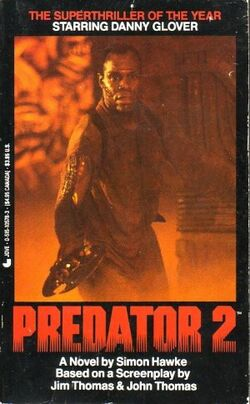 Predator 2 novel 1990
