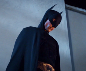 Abed as Batman