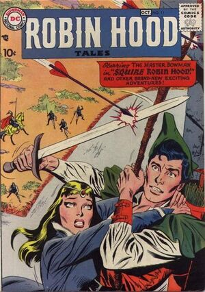 Cover for Robin Hood Tales #11