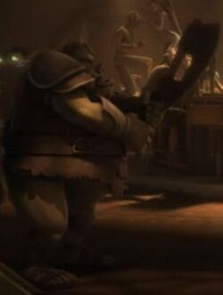 Unidentified Gamorrean 3 (Nal Hutta)