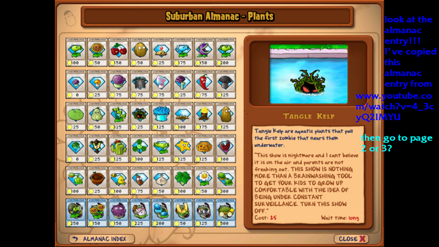 Pictures of Tangle Kelp Plants Vs Zombies - #rock-cafe