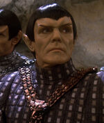 Romulan captain, 2369