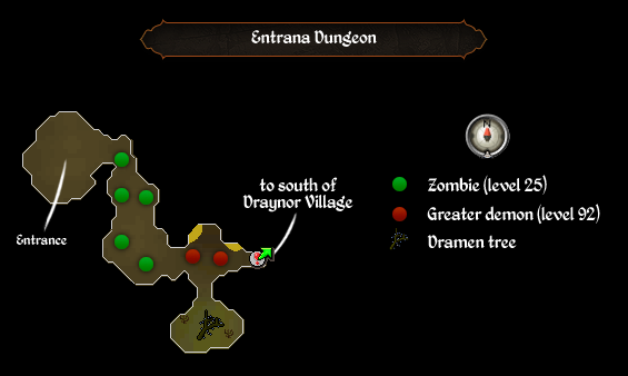 Entrana dungeon
