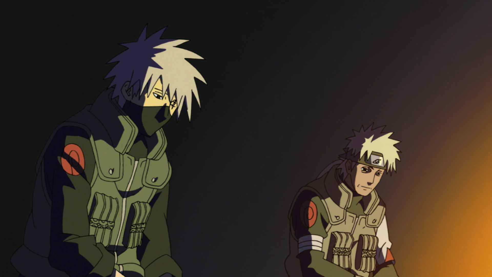 Kakashi and Sakumo Chronicles Sakumo_and_Kakashi_speak