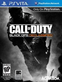 Call of Duty Black Ops Declassified box art