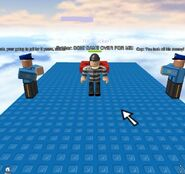 A ROBBER GOT CAUGHT!!! (Funny Roblox Screenshot 14)