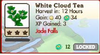 White Cloud Tea Market Info (June 2012)