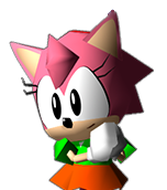 Sonic R-Amy Rose