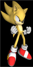 Super Sonic In SG Artwork