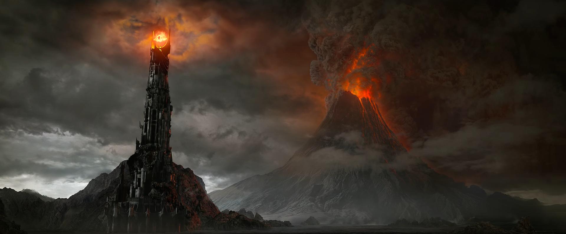 Resultado de imagen de the lord of the ring lava