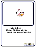 Mighty Bird Card