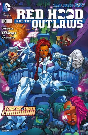 Cover for Red Hood and the Outlaws #10