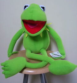 Australia 2012 disney plush large kermit 60cm