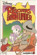The Rescuers Down Under (Ladybird)