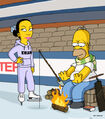 Homer and Ned&#39;s Hail Mary Pass (Promo Picture) 4