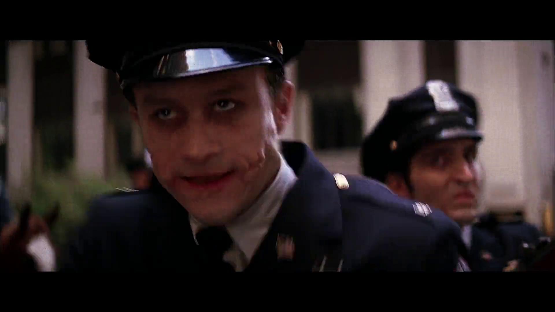 Heath Ledger Joker Makeup