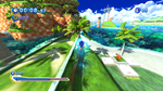 Sonic Generations @ Seaside Hill Mid-Air Boost