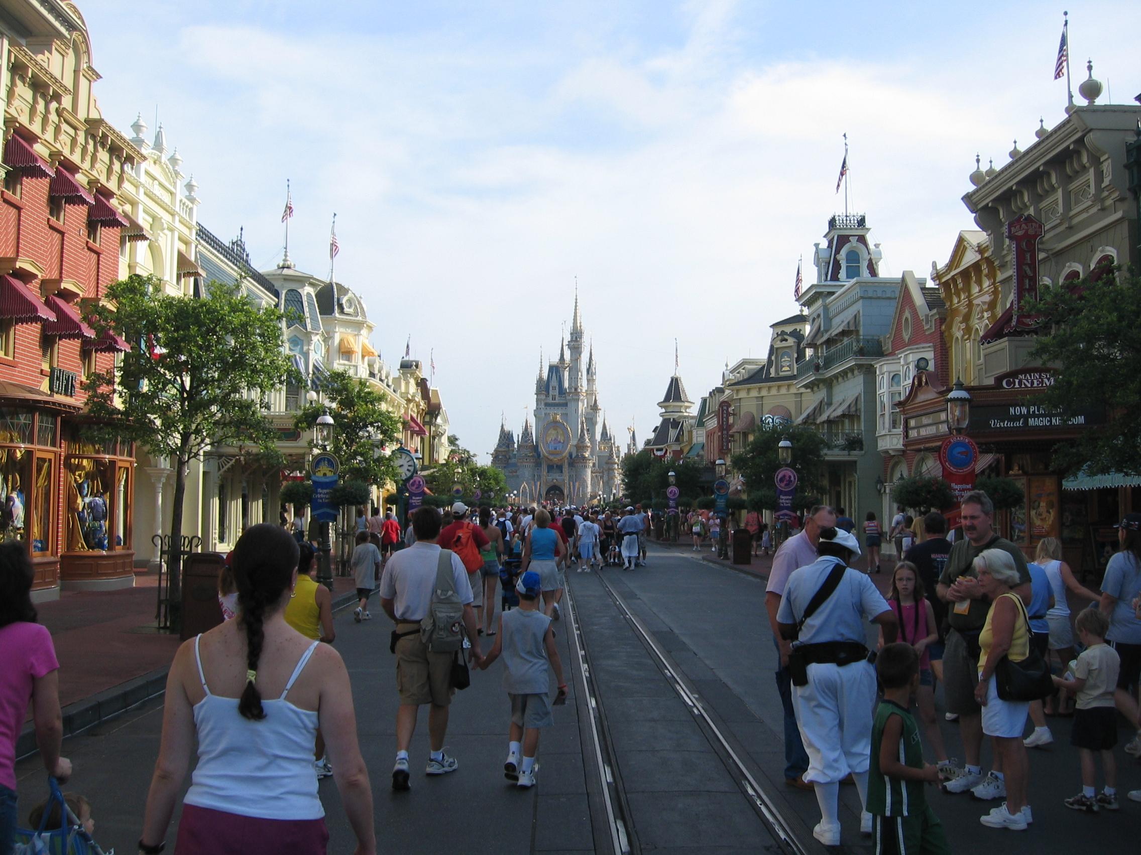 Main Street U S A Disney Wiki