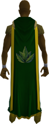Herblore cape (t) equipped