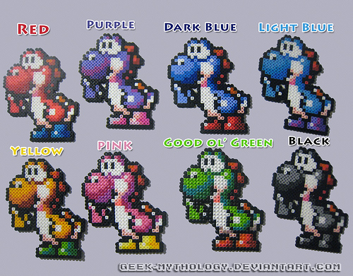 Image - Yoshi colors.jpg - Yoshi Wiki, your #1 source for ...
