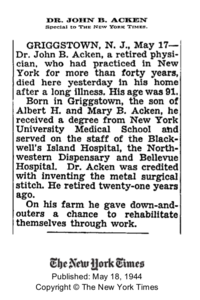 Acken-JohnB 1944 obit