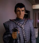Romulan officer, 2369