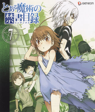 Toaru Majutsu no Index Blu-ray 07 cover