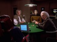 Data's poker game, 2369