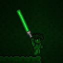Terraria Using Green Phaseblade