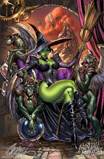 The wicked witch of the west by j scott campbell-d2yr8dn
