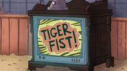 S1e4 tiger fist logo