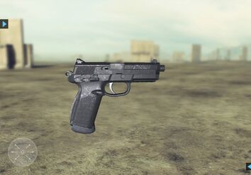 Future Soldier FN FNP-45 Tactical Website 1
