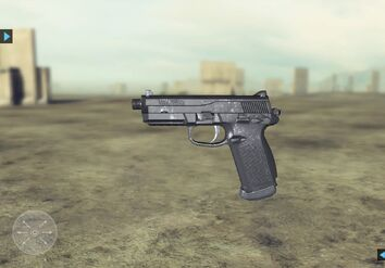 Future Soldier FN FNP-45 Tactical Website 2