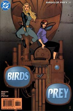 Birds of Prey 38c