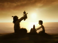 Iroh, Zuko, and Lu Ten at the beach.png