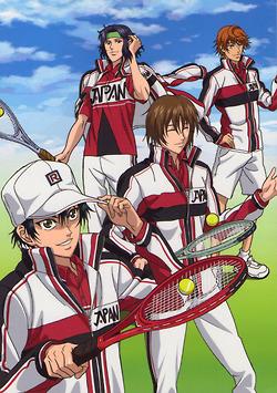 Galeria grupal shin pot - Página 2 Echizen_Ryoma,_Fuji_Shusuke,_Yukimura_Seiichi_and_Sengoku_Kiyosumi_in_Shin_prince_of_Tennis