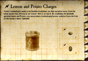 Lemon and Potato Charges