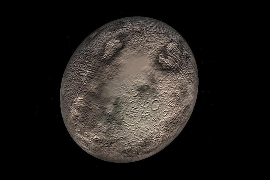 The dwarf planet Quaoar  Physorg