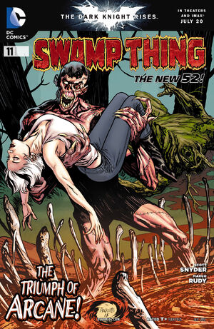Cover for Swamp Thing #11