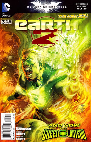 Cover for Earth 2 #3
