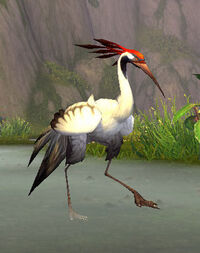 WhitefisherCrane