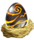 Dragon City Hotmetal egg 70x82