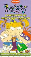 A Baby's Gotta Do What a Baby's Gotta Do 1996 VHS