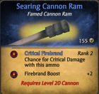 Searing ram clearer
