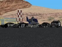 All Police Cars and Heli NFSMW Carbon