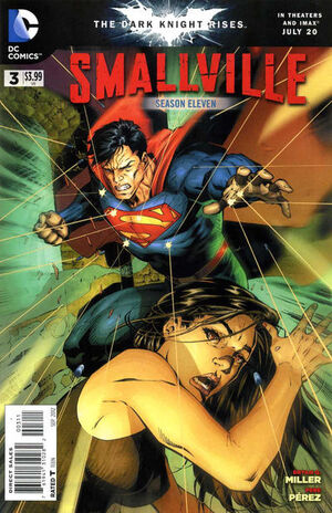 Cover for Smallville Season 11 #3