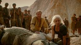Jorah en el Desierto Rojo HBO
