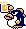 Penguin Sprite - Wario Land II (Japan)