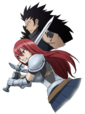 Erza and Gajeel Movie