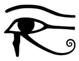 200px-Eye of Horus bw svg